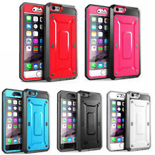 Armor ShockProof Hybrid Tough Heavy Duty Case For Apple iPhone 5 5S 6 6S Plus