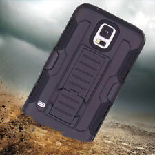 Shockproof Heavy Duty Hybrid Silicone Case Covers Tough Hard For Samsung Galaxy
