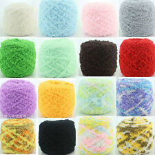 100g/pc Soft Smooth Worsted Natural Wool Baby Knitting Sweater Hand-Knitted Yarn