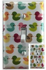 Cute Birds Single Toggle Decorative Light Switch Cover Outlet Switch Plate