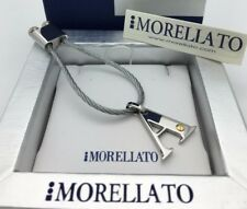 Morellato Stainless Steel Letter Initial Alphabet Key Chain Available in A to Z