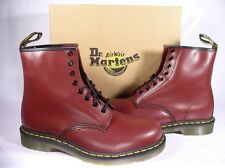 DR. MARTEN'S CHERRY RED LEATHER 1460 8 EYELET BOOT