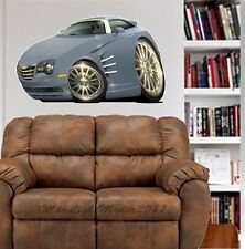 2005 Crossfire Cartoon Car WALL DECAL MAN CAVE ROOM GARAGE MURAL PRINT 6791