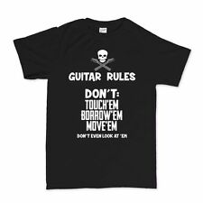 Guitar Rules 59 American Les Paul Stratocaster Telecaster T shirt