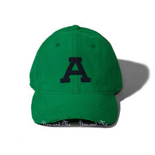 NEW Men's Abercrombie & Fitch Classic * Fitted Felt Baseball Cap/Hat * Green