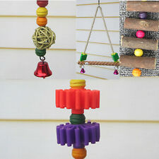 Ladder Swing Bars Supplies Elevated Toys Teeth  Chew Birds Minerals Parrot