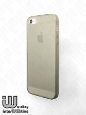 Ultra Thin Matte Clear Gel 0.3mm TPU Soft Cover Skin Case For Apple iPhone 5 5S