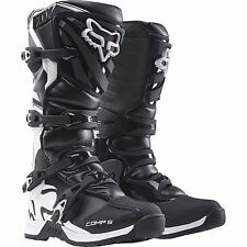 New 2016 Fox Racing Men's Comp 5 Black/White MX/ATV Offroad Riding Boots