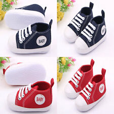 0-18 Month Baby Toddler Shoes Canvas Infant Shoes Prewalker For Newborn Boy Girl