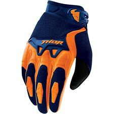 Thor NEW 2016 Youth Mx Gear Spectrum Navy Orange Motocross Dirt Bike Kids Gloves