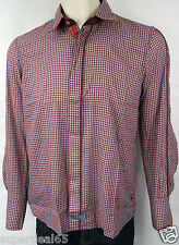 Scott Weiland The Collection By English Laundry EWW079 Blue Red  Plaid