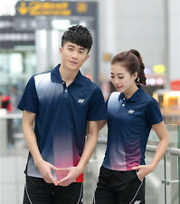Fashion Men's T-Shirt+Short Badminton table tennis SportswearTracksuits Suit New