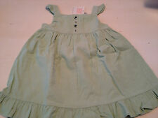 NWT Janie and Jack Green Corduroy Dress