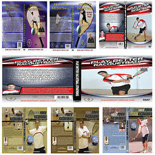 New Racquetball Instructional DVDs - Many Titles To Choose From -Free shipping