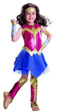 Batman v Superman Deluxe Wonder Woman Child Costume, Red, Rubies