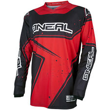 Oneal 2017 NEW Kids Mx Gear Element Dirt Bike Black Red Youth Motocross Jersey