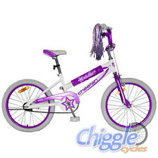 "Cheetah Estella - 20"" Steel Long Wheel Base Frame Girls/Kids BMX Bicycle/Bike"