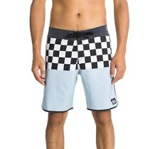 NWT Quiksilver OG Scallop Board shorts Men 32 Boardshorts Chequer Swim Trunks