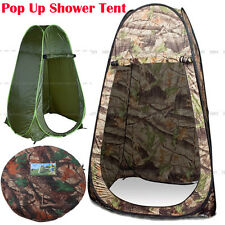 New Portable Pop Up Outdoor Camping Shower Tent Toilet Privacy Change Room AU