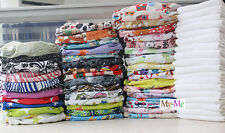 New One Size Baby Cloth Diaper Reusable Pocket Nappy Hip Snaps Wrap inserts