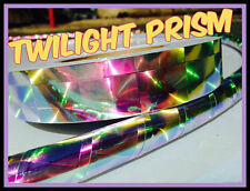 "1"" Twilight Prism Reflective Hula Hoop Tape  - You Pick Length"