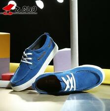 Men's vogue suede leather wearproof Sneaker fashion Casual athletic skate shoes