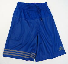 Adidas ClimaLite Blue & Gray Double Mesh Athletic Shorts Mens NWT