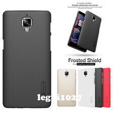 For OnePlus 3 A3000 Nillkin Matte Shield Back Cover Skin Case + Screen Protector