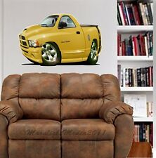 2004 Rumble Bee Pickup Truck WALL GRAPHIC DECAL MAN CAVE ROOM GARAGE6807