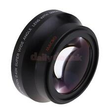 Wide Angle Macro Auxiliary Lens For Canon18-135 Nikon18-105 Camera New