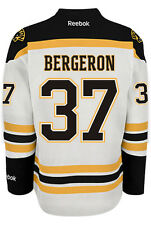 Patrice Bergeron Boston Bruins NHL Away Reebok Premier Hockey Jersey