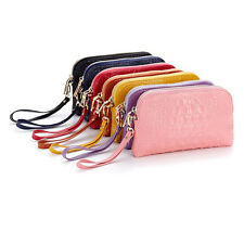 Women Genuine Quality Leather Wallet Wrist Bag Purse Card Holder Handbag Clutch