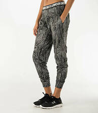 NEW $75 M UNDER ARMOUR UA DOWNTOWN PRINTED KNIT JOGGER WOMEN`S STUDIO PANTS  NWT