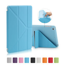 Ultra Slim Magnetic Leather Smart Cover TPU Back Case For Apple iPad Air 2 Mini
