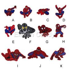 Spiderman Logo Embroidered Applique Iron On Sew Patch DIY Accessories Clothing