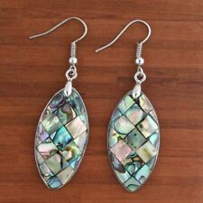 Natural Abalone Shell Multiple Styles Dangle Hook Shell Women's Earring Jewelry