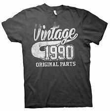 VINTAGE Original Parts 1990 - Distressed Print - 26th Birthday Gift T-shirt