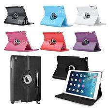 Smart 360 Degree Rotating Leather Stand Case Cover For iPad AIR 1st & 2nd Gen