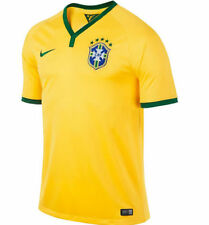 NEW NIKE Youth Boys Brazil Home Soccer Football Jersey Shirt World Cup
