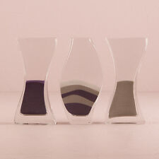 Wedding Unity Sand Ceremony Nesting 3-Piece Glass Vase Set Q15573