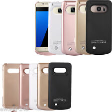 New External Backup Battery Cover Case For Samsung Galaxy S7/ S7 Edge Power Bank