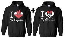Couple Hoodie I Love My Boyfriend Girlfriend Valentines day Gift For him hooded