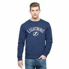 '47 Tampa Bay Lightning Blue Cross-Check Sweatshirt
