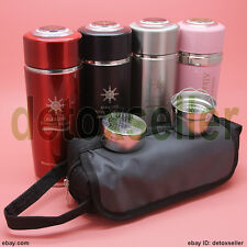 Quantum Alkaline Filtered Water Nano Cup Bio Energy Ionizer Flask Bottle Filters