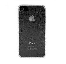 Genuine Orbyx Wet Look Rain Drops Clip Case Cover for Apple iPhone 4 4S