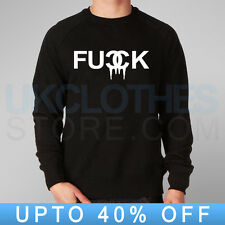 F*CK DOPE KINGS TRAPSTAR MOUSE HANDS OBEY WASTED RAP COMME DES RAP SWEATSHIRT