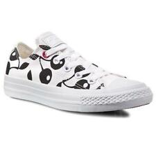 Womens CONVERSE CHUCK TAYLOR CT OX White/Black Trainers 547343C