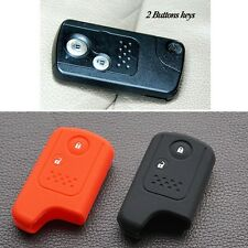 silicone key cover case stickers for Honda Accord CRV Civic Hrv Fit Freed 2 BTN