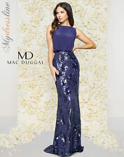 Mac Duggal 80660D Long Evening Dress ~LOWEST PRICE GUARANTEE~ NEW Authentic Gown