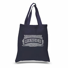 Small Tote Bag - The US Ranger Creed Created using The Ranger Creed